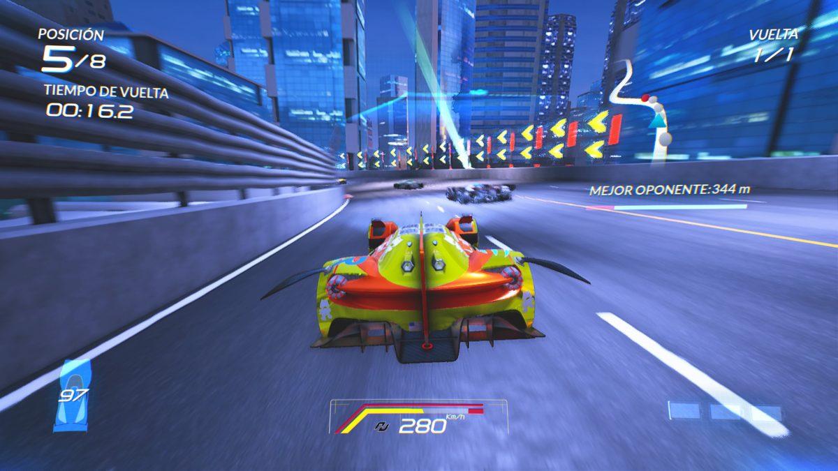 Xenon Racer amplía su contenido