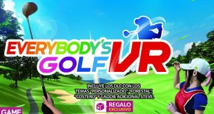 GAME detalla sus incentivos por la reserva de Everybody's Golf VR