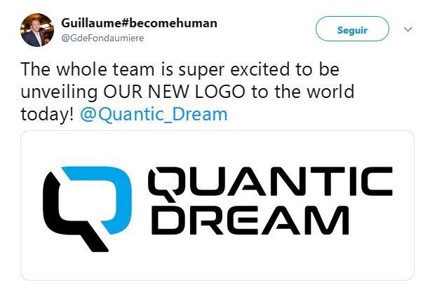 Quantic Dream anuncia nuevo logotipo oficial