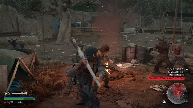 Days Gone combate
