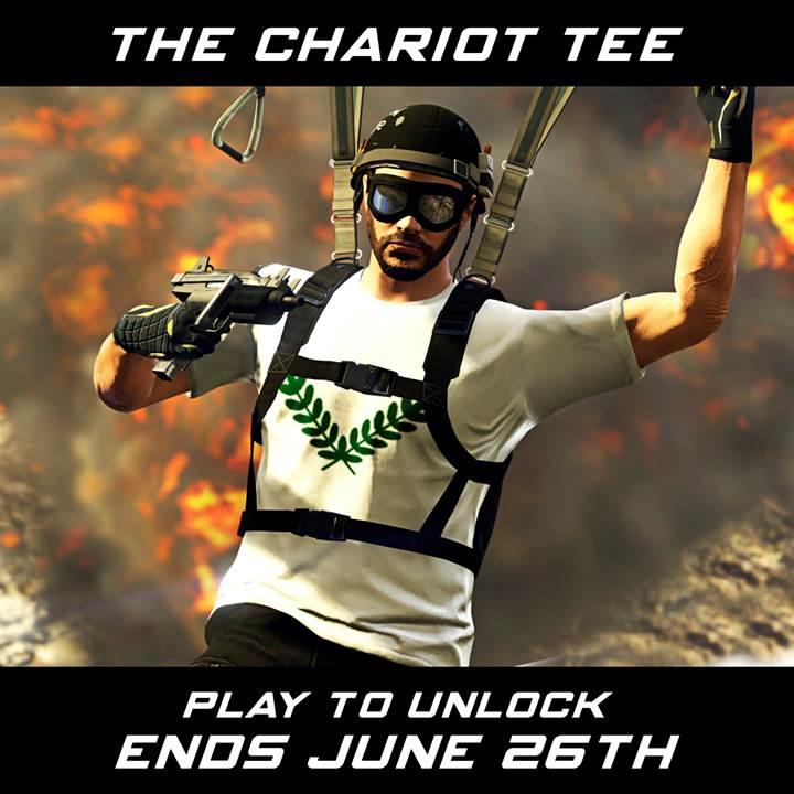 Camiseta Chariot GTA Online