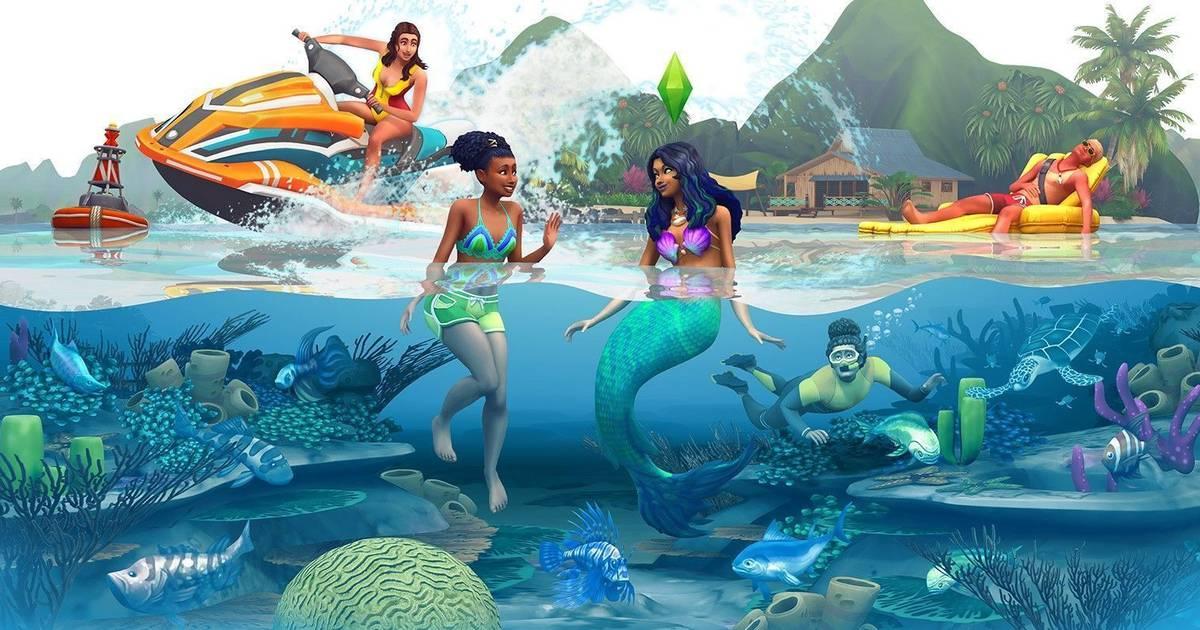 Los Sims 4 Isla Paraíso EA Play