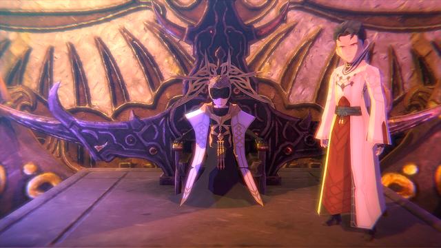 Imágen de Leo y Lobelia, dos de los personajes protagonistas de Oninaki