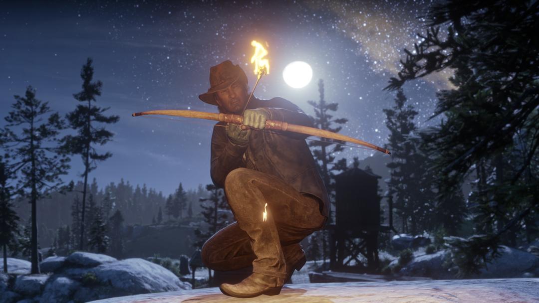 Flecha fuego Red Dead Online