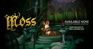 Moss recibe la expansión Twilight Garden gratis