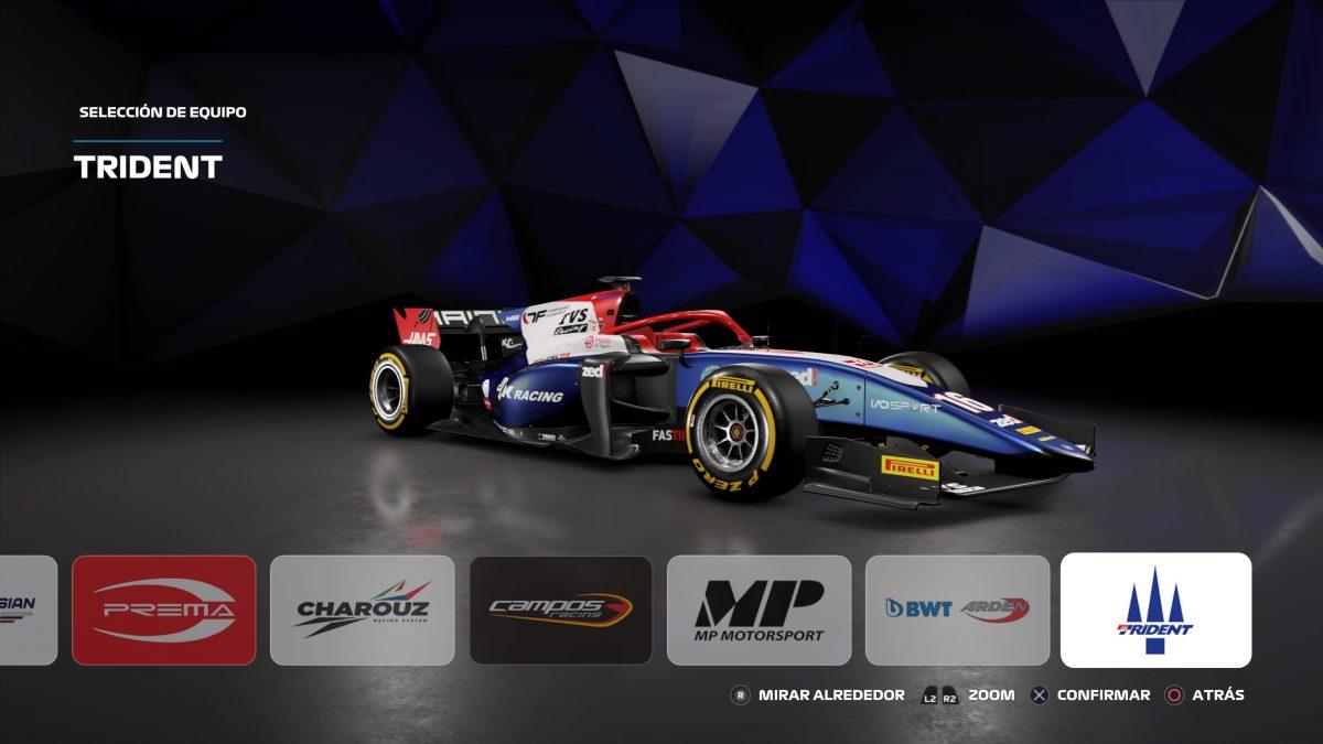 La F2 será el inicio de F1 2019, luego tendrás que subir de categoria.
