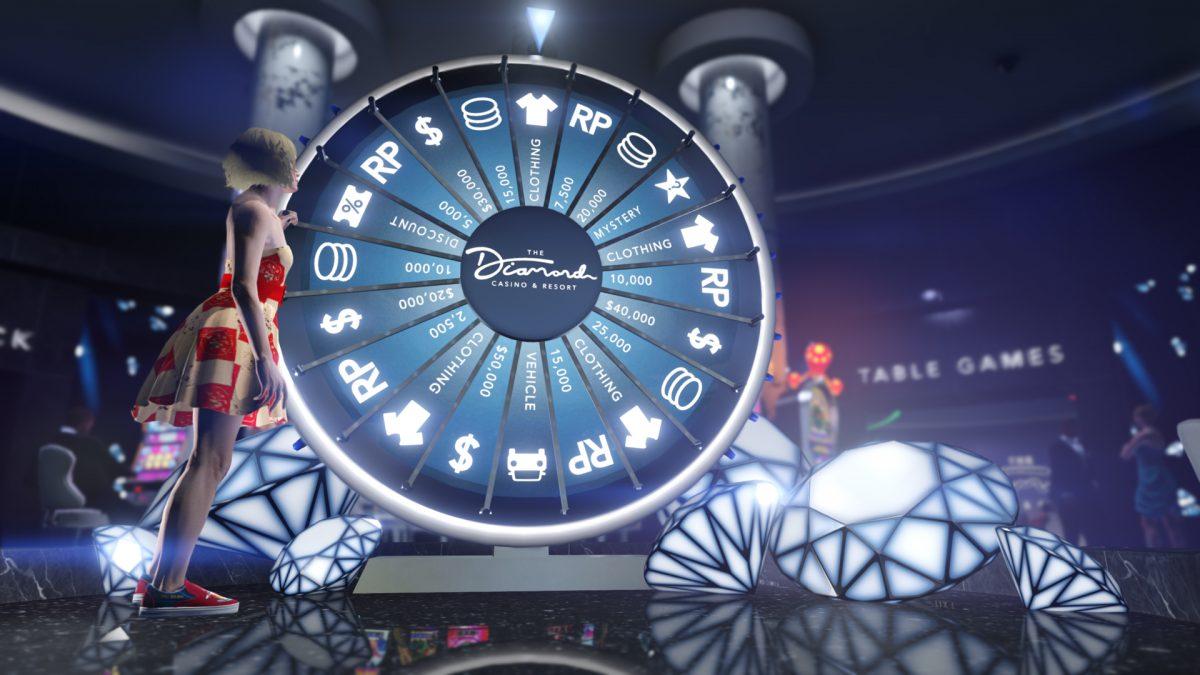 GTA Online GTA V Diamond Casino Ruleta Blackjack