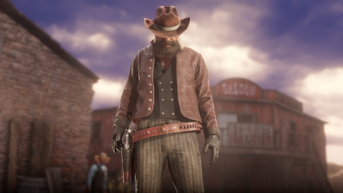 Red Dead Redemption 2 Red Dead Online abrigo Irwin