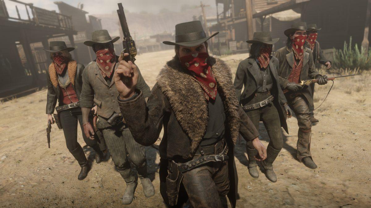 Red Dead Redemption 2 Red Dead Online banda forajidos
