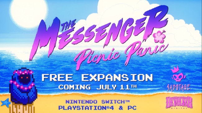 The Messenger Picnic Party DLC
