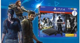 GAME anuncia en exclusiva su Mega Pack Playstation 4 con tres juegos