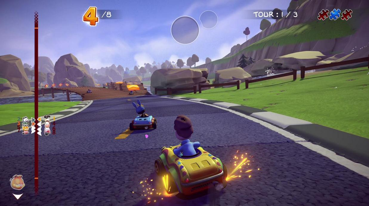 Garfield Kart: Furious Racing llegará a Ps4