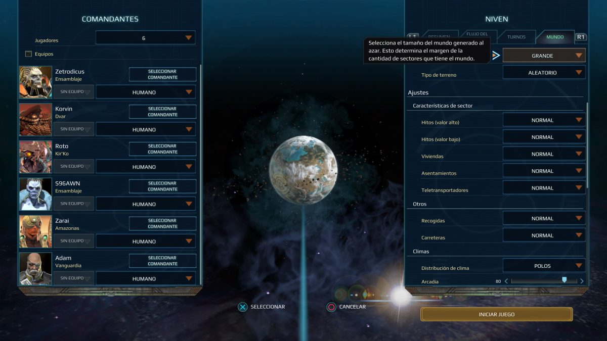 Multijugador Age of Wonders Planetfall