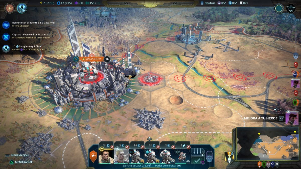 Análisis Age of Wonders Planetfall