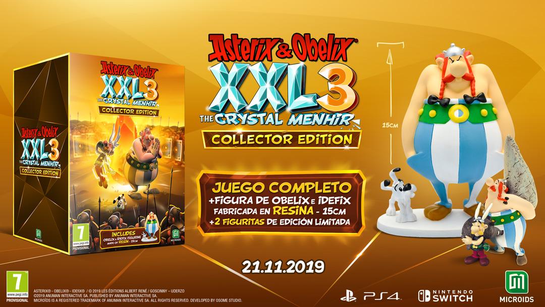Asterix & Obelix xxl3 el Menhir de Cristal collector edition