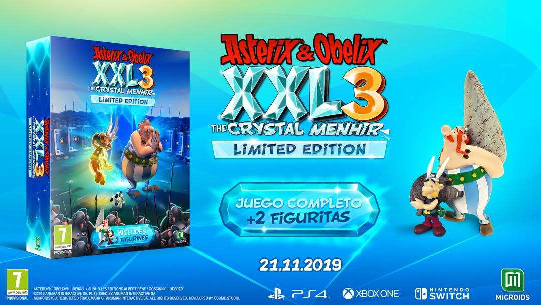 Asterix & Obelix xxl3 el Menhir de Cristal limited edition