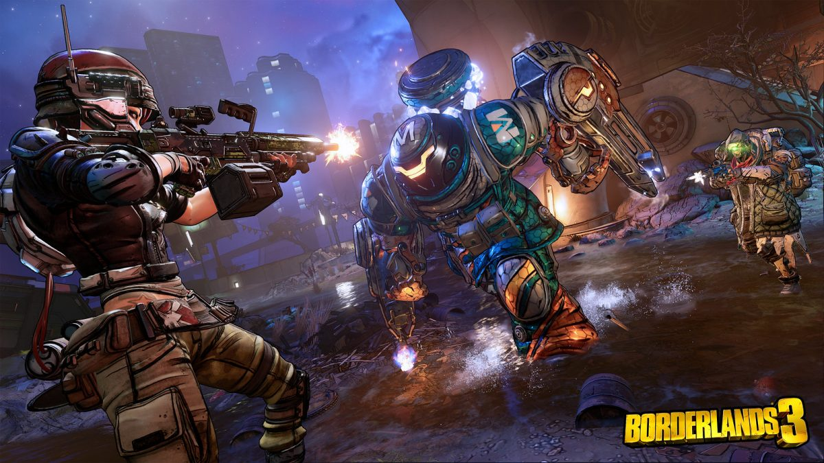 Borderlands 3 Moze Fl4k combate