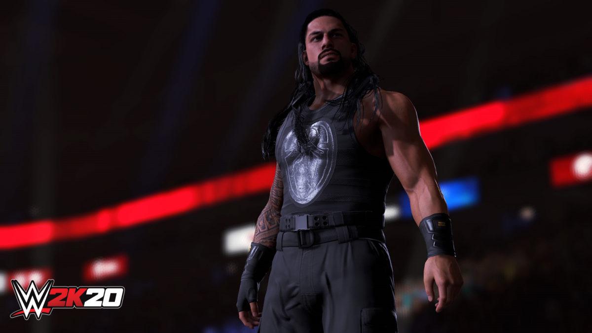 Roman Reigns WWE 2K20 Tower Screen