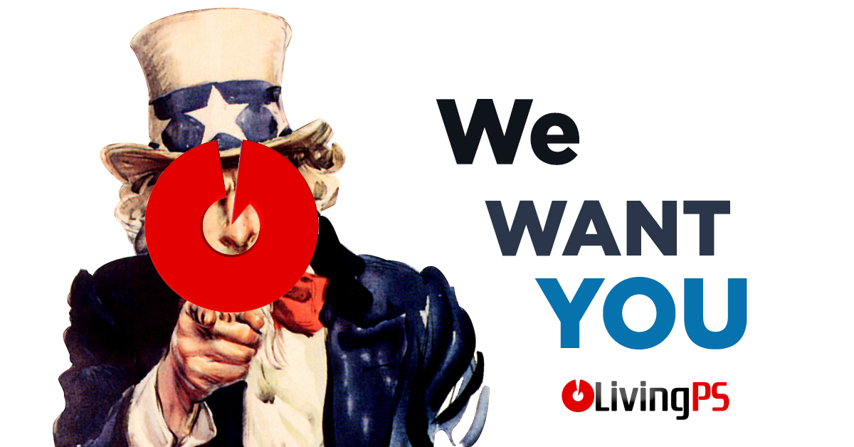 We Want You Livingps