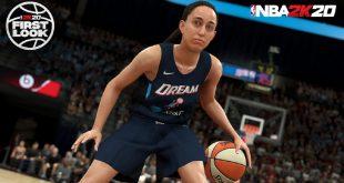 NBA 2K20 añade un nuevo fichaje a la franquicia, el baloncesto femenino