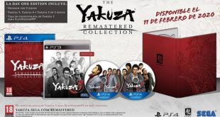 [GC19] The Yakuza Remastered Collection llega a PS4