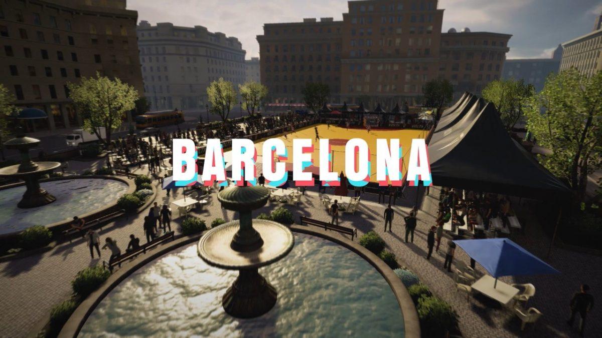 Barcelona será uno de los escenarios de VOLTA para FIFA 20