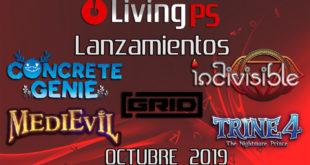 lanzamientos octubre 2019