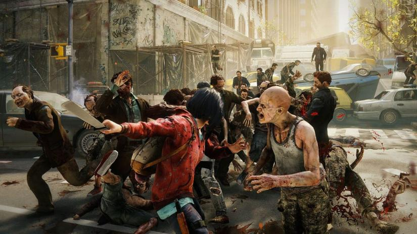 World War Z combate