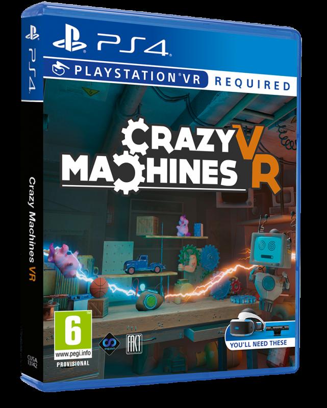 Crazy Machines VR formato físico