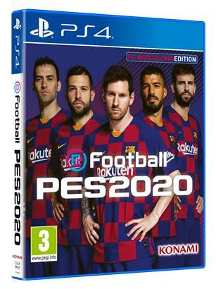 eFootball PES 2020 edición F.C. Barcelona