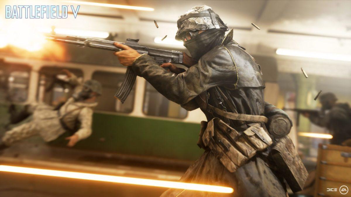 Battlefield V Operation Underground infantería