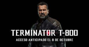 Mortal Kombat 11 recibe al Terminator T-800