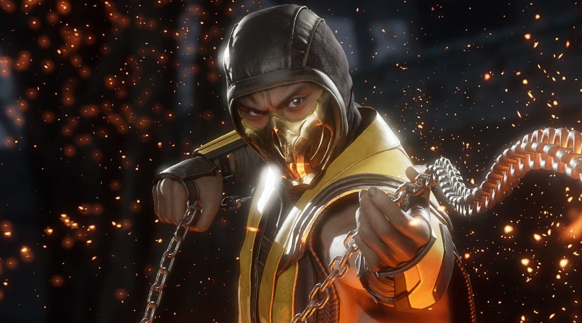 Mortal Kombat 11 Scorpion chain