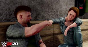 WWE 2K20 permitirá avanzar con dos personajes en el modo MiCarrera