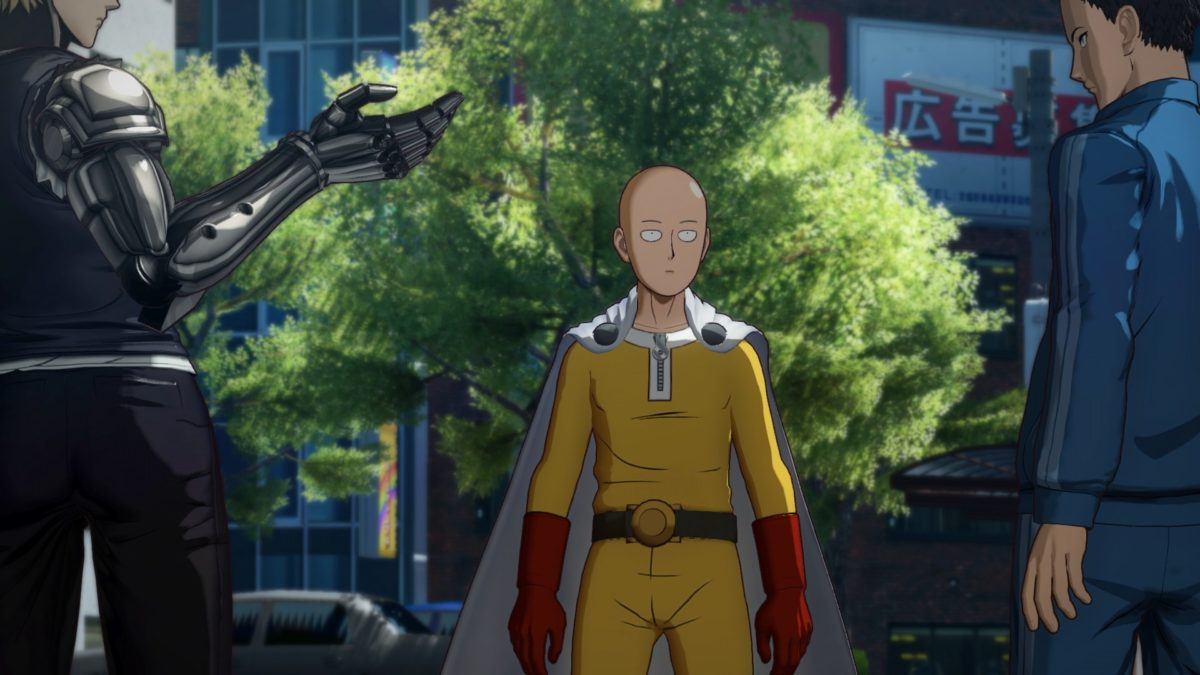 One Punch Man a Hero Nobody Knows story 001
