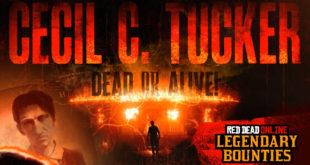 Novedades en Red Dead Online con El Fugitivo Legendario Cecil C. Tucker
