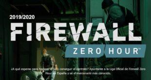 Firewall Zero Hour abre inscripciones para su liga nacional