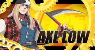 Guilty Gear nos muestra a May y Axl Row en acción