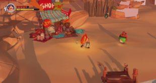 Asterix y Obelix XXL3 El Menhir de Cristal Gameplay obelix