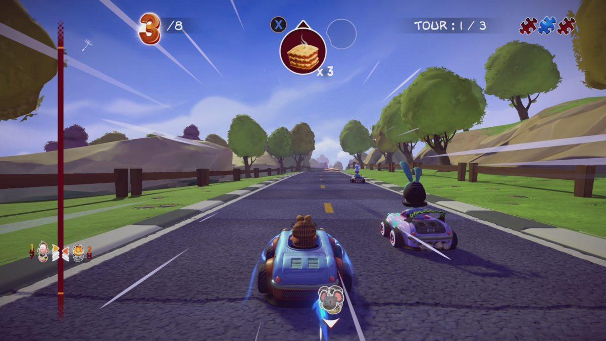 Gardfield Kart Furious Racing gameplay