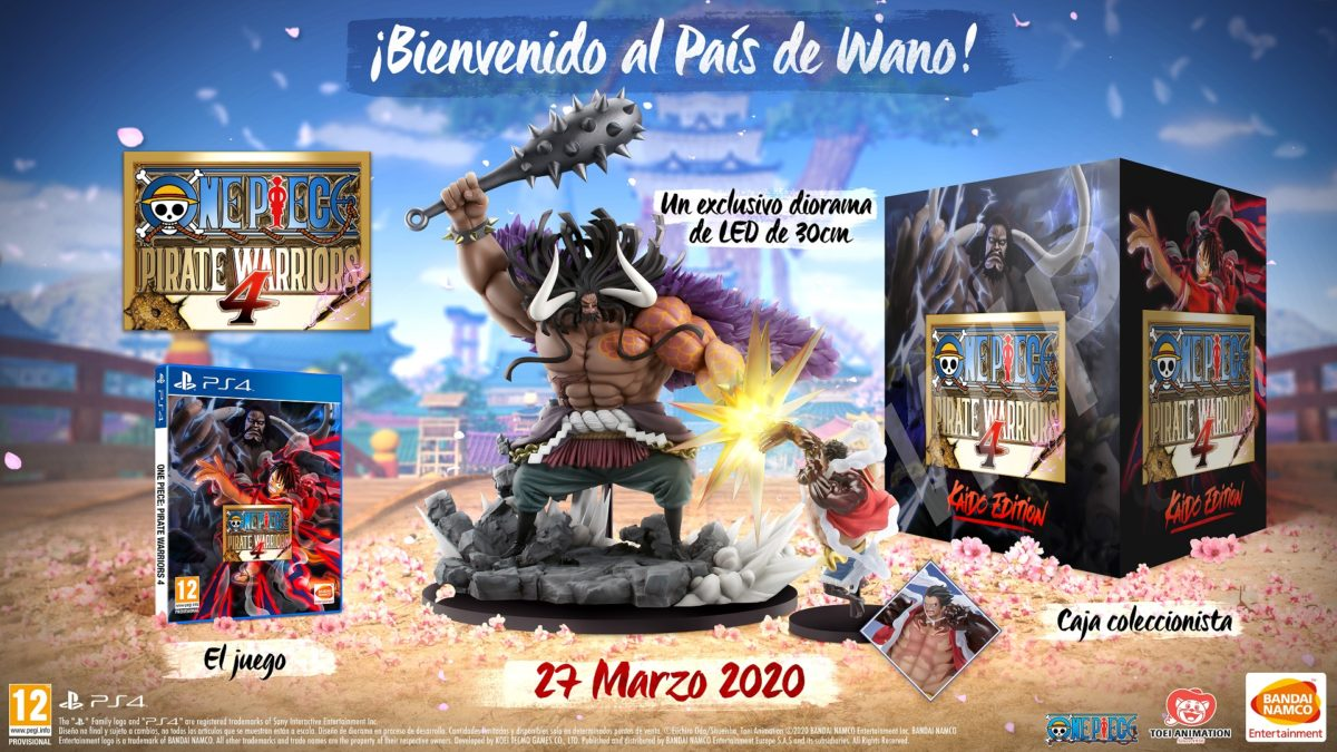 One Piece Pirate Warriors 4 Collector PS4