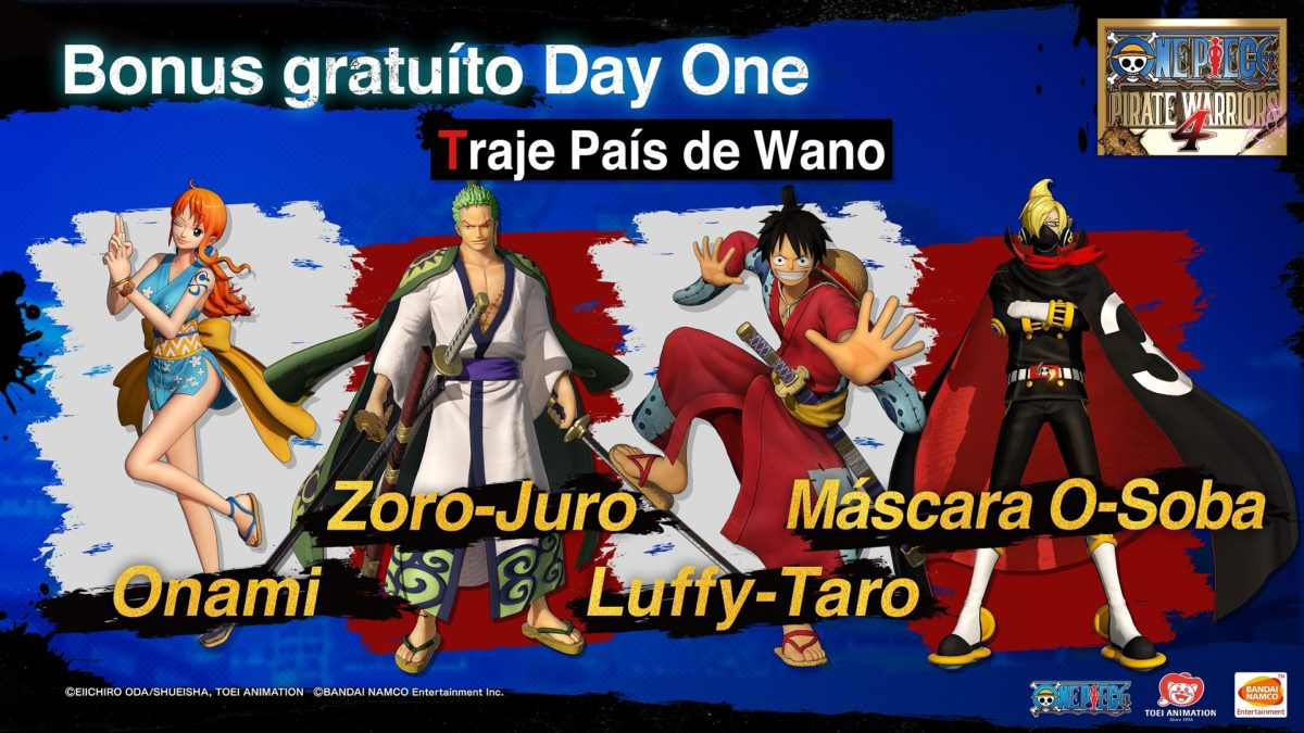 One Piece Pirate Warriors 4 DLC Gratuito