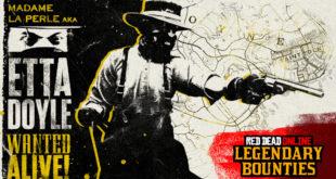 Red Dead Online añade un nuevo Fugitivo legendario, además de nuevas actividades y más