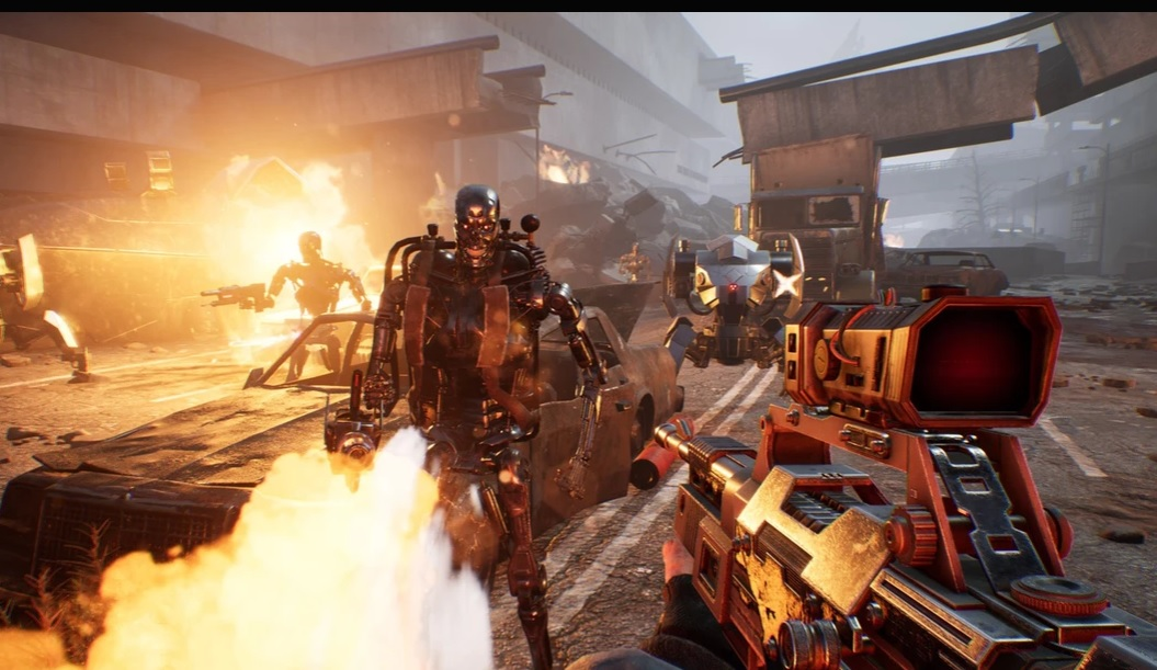 Terminator Resistance _pantalla