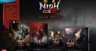 GAME anuncia los extras por reserva y la edición especial exclusiva de Nioh 2