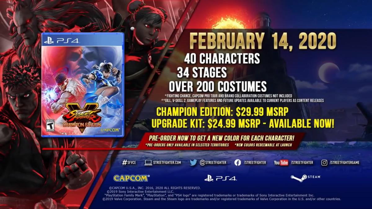 Street Fighter V Champion Edition