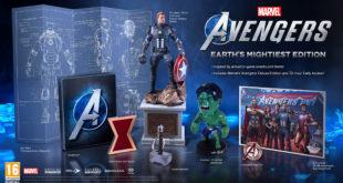 Desveladas ediciones y contenidos extra de Marvel's Avengers