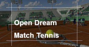 Open Dream Match Tennis VR, nuevo torneo gracias a eGamersVR