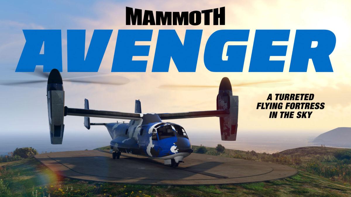 GTA Online - 3 26 2020 - Mammoth Avenger