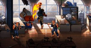 Streets of Rage 4 Axel super art gameplay